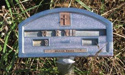 UNKNOWN, MARY - Thurston County, Nebraska | MARY UNKNOWN - Nebraska Gravestone Photos