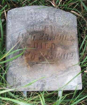 UNKNOWN, NELLIE - Thurston County, Nebraska | NELLIE UNKNOWN - Nebraska Gravestone Photos