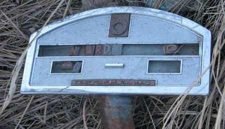UNKNOWN, N ARD O - Thurston County, Nebraska   N ARD O UNKNOWN - Nebraska Gravestone Photos
