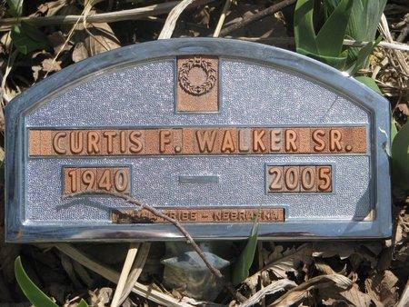 WALKER, CURTIS F. SR. - Thurston County, Nebraska | CURTIS F. SR. WALKER - Nebraska Gravestone Photos