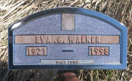WALKER, EVA G. - Thurston County, Nebraska | EVA G. WALKER - Nebraska Gravestone Photos