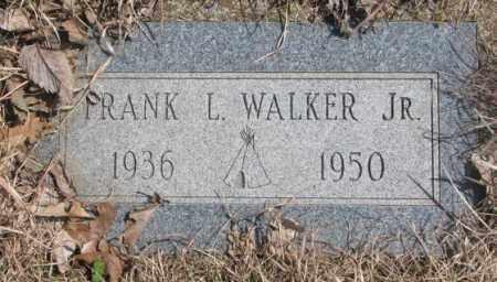 WALKER, FRANK L. JR. - Thurston County, Nebraska | FRANK L. JR. WALKER - Nebraska Gravestone Photos