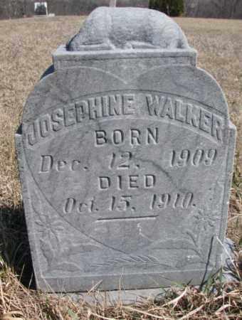 WALKER, JOSEPHINE - Thurston County, Nebraska | JOSEPHINE WALKER - Nebraska Gravestone Photos