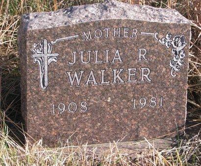 WALKER, JULIA R. - Thurston County, Nebraska | JULIA R. WALKER - Nebraska Gravestone Photos