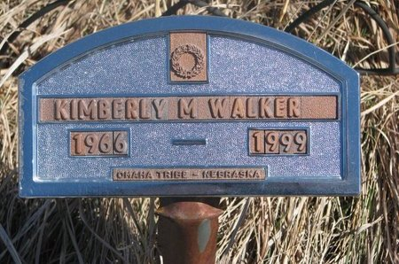 WALKER, KIMBERLY M. - Thurston County, Nebraska   KIMBERLY M. WALKER - Nebraska Gravestone Photos