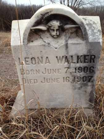 WALKER, LEONA - Thurston County, Nebraska | LEONA WALKER - Nebraska Gravestone Photos