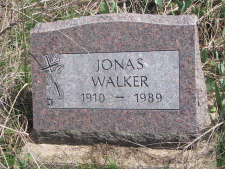 WALKER, JONAS - Thurston County, Nebraska | JONAS WALKER - Nebraska Gravestone Photos