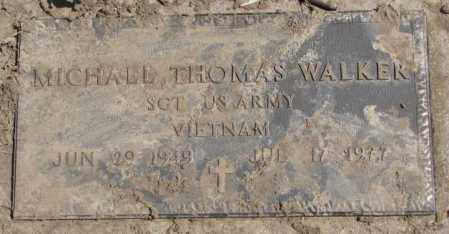 WALKER, MICHAEL THOMAS - Thurston County, Nebraska | MICHAEL THOMAS WALKER - Nebraska Gravestone Photos