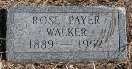 WALKER, ROSE - Thurston County, Nebraska | ROSE WALKER - Nebraska Gravestone Photos