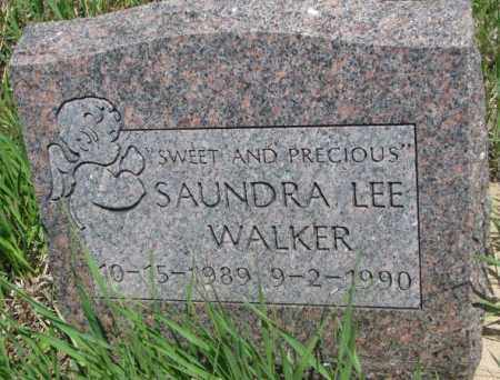 WALKER, SAUNDRA LEE - Thurston County, Nebraska | SAUNDRA LEE WALKER - Nebraska Gravestone Photos