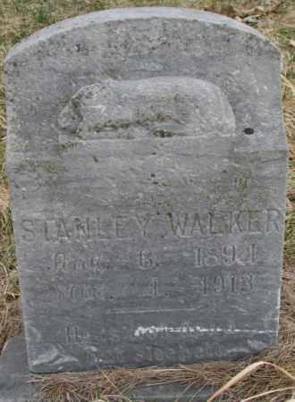 WALKER, STANLEY - Thurston County, Nebraska | STANLEY WALKER - Nebraska Gravestone Photos