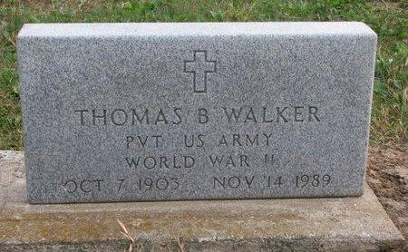 WALKER, THOMAS B. - Thurston County, Nebraska | THOMAS B. WALKER - Nebraska Gravestone Photos