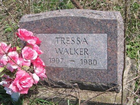 WALKER, TRESSA - Thurston County, Nebraska | TRESSA WALKER - Nebraska Gravestone Photos