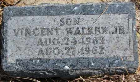 WALKER, VINCENT JR. - Thurston County, Nebraska | VINCENT JR. WALKER - Nebraska Gravestone Photos