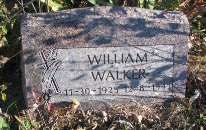 WALKER, WILLIAM - Thurston County, Nebraska | WILLIAM WALKER - Nebraska Gravestone Photos