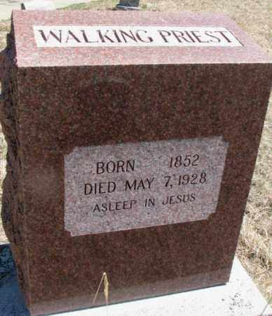 WALKING PRIEST, . - Thurston County, Nebraska | . WALKING PRIEST - Nebraska Gravestone Photos