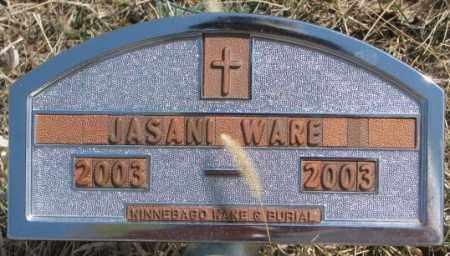 WARE, JASANI - Thurston County, Nebraska   JASANI WARE - Nebraska Gravestone Photos