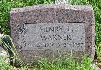 WARNER, HENRY LAWRENCE #2 - Thurston County, Nebraska | HENRY LAWRENCE #2 WARNER - Nebraska Gravestone Photos