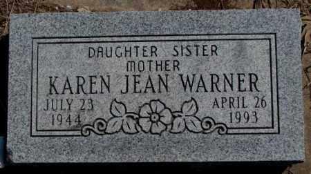 WARNER, KAREN JEAN - Thurston County, Nebraska | KAREN JEAN WARNER - Nebraska Gravestone Photos