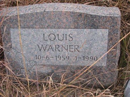 WARNER, LOUIS - Thurston County, Nebraska | LOUIS WARNER - Nebraska Gravestone Photos