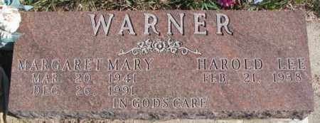 WARNER, HAROLD LEE - Thurston County, Nebraska | HAROLD LEE WARNER - Nebraska Gravestone Photos