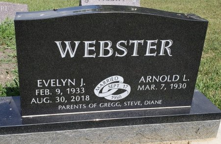 WEBSTER, ARNOLD L. - Thurston County, Nebraska | ARNOLD L. WEBSTER - Nebraska Gravestone Photos