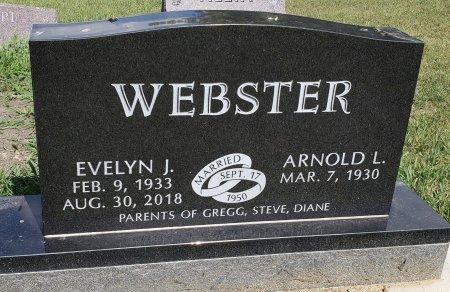 WEBSTER, EVELYN J. - Thurston County, Nebraska | EVELYN J. WEBSTER - Nebraska Gravestone Photos