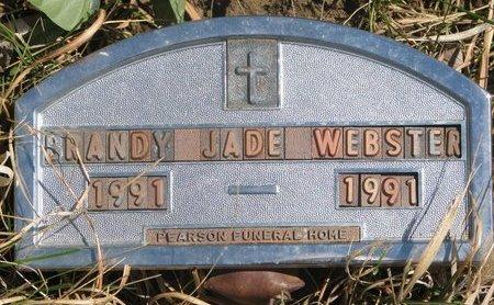WEBSTER, BRANDY JADE - Thurston County, Nebraska | BRANDY JADE WEBSTER - Nebraska Gravestone Photos