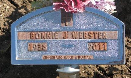WEBSTER, BONNIE J. - Thurston County, Nebraska | BONNIE J. WEBSTER - Nebraska Gravestone Photos