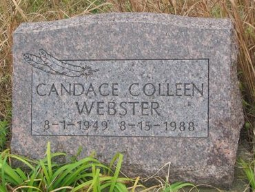 WEBSTER, CANDACE COLLEEN - Thurston County, Nebraska | CANDACE COLLEEN WEBSTER - Nebraska Gravestone Photos