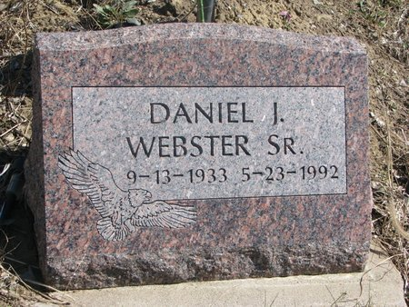 WEBSTER, DANIEL I. SR. - Thurston County, Nebraska | DANIEL I. SR. WEBSTER - Nebraska Gravestone Photos
