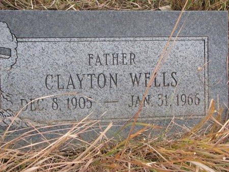 WELLS, CLAYTON - Thurston County, Nebraska   CLAYTON WELLS - Nebraska Gravestone Photos