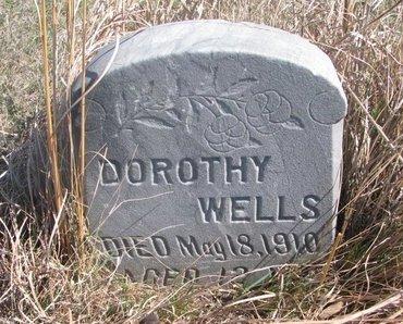 WELLS, DOROTHY - Thurston County, Nebraska | DOROTHY WELLS - Nebraska Gravestone Photos