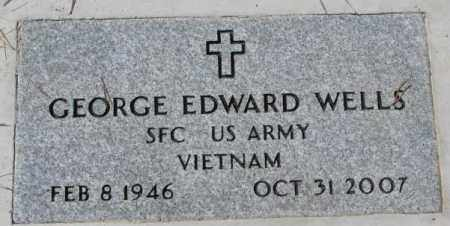 WELLS, GEORGE EDWARD (MILITARY) - Thurston County, Nebraska   GEORGE EDWARD (MILITARY) WELLS - Nebraska Gravestone Photos