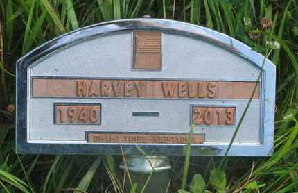 WELLS, HARVEY - Thurston County, Nebraska | HARVEY WELLS - Nebraska Gravestone Photos