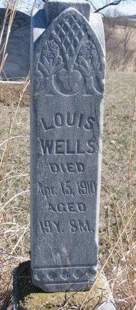 WELLS, LOUIS - Thurston County, Nebraska | LOUIS WELLS - Nebraska Gravestone Photos
