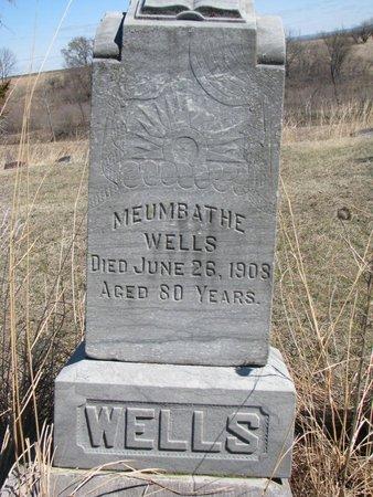 WELLS, MEUMBATHE - Thurston County, Nebraska   MEUMBATHE WELLS - Nebraska Gravestone Photos