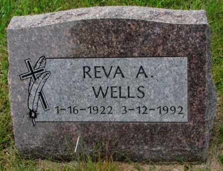 WELLS, REVA A. - Thurston County, Nebraska | REVA A. WELLS - Nebraska Gravestone Photos