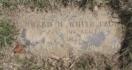 WHITE EAGLE, EDWARD H. - Thurston County, Nebraska | EDWARD H. WHITE EAGLE - Nebraska Gravestone Photos