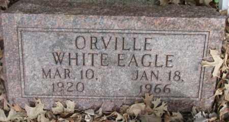 WHITE EAGLE, ORVILLE - Thurston County, Nebraska | ORVILLE WHITE EAGLE - Nebraska Gravestone Photos