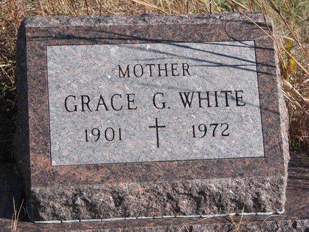 WHITE, GRACE G. - Thurston County, Nebraska | GRACE G. WHITE - Nebraska Gravestone Photos