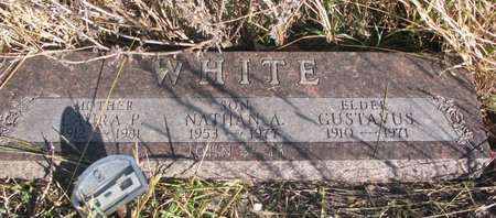WHITE, NATHAN A. - Thurston County, Nebraska | NATHAN A. WHITE - Nebraska Gravestone Photos