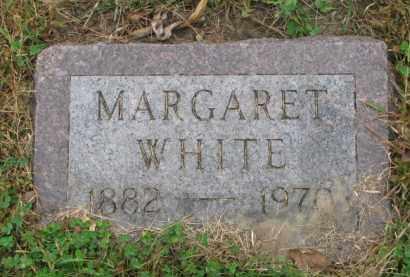 WHITE, MARGARET - Thurston County, Nebraska | MARGARET WHITE - Nebraska Gravestone Photos