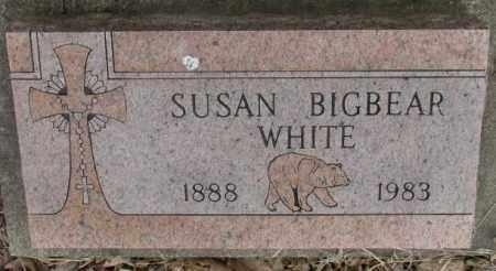 WHITE, SUSAN - Thurston County, Nebraska | SUSAN WHITE - Nebraska Gravestone Photos