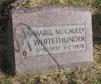 WHITE THUNDER, MABEL - Thurston County, Nebraska | MABEL WHITE THUNDER - Nebraska Gravestone Photos