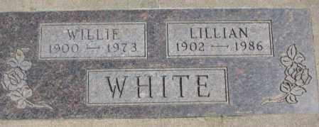 WHITE, WILLIE - Thurston County, Nebraska   WILLIE WHITE - Nebraska Gravestone Photos