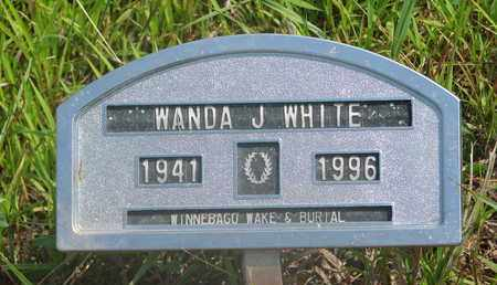 WHITE, WANDA J. - Thurston County, Nebraska | WANDA J. WHITE - Nebraska Gravestone Photos