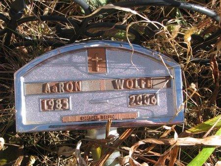 WOLFE, AARON - Thurston County, Nebraska | AARON WOLFE - Nebraska Gravestone Photos