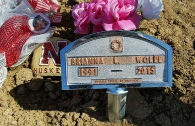 WOLFE, BRIANNA L. - Thurston County, Nebraska   BRIANNA L. WOLFE - Nebraska Gravestone Photos