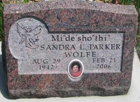 WOLFE, SANDRA L. - Thurston County, Nebraska | SANDRA L. WOLFE - Nebraska Gravestone Photos